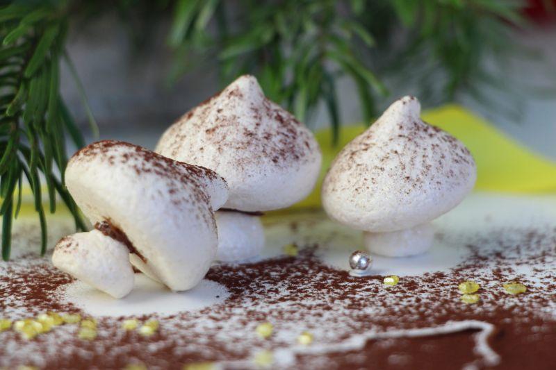 Champignons meringues 2