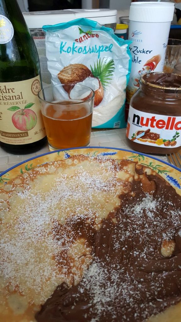 Crepes mit Butter