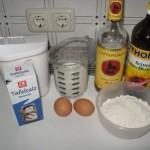 Zutaten für Crêpes