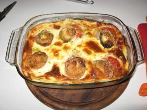 Quiche mit Ziegenkäse und Tomaten