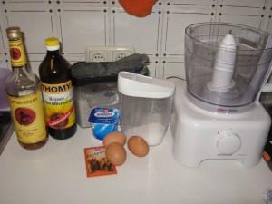 Zutaten Joghurtkuchen