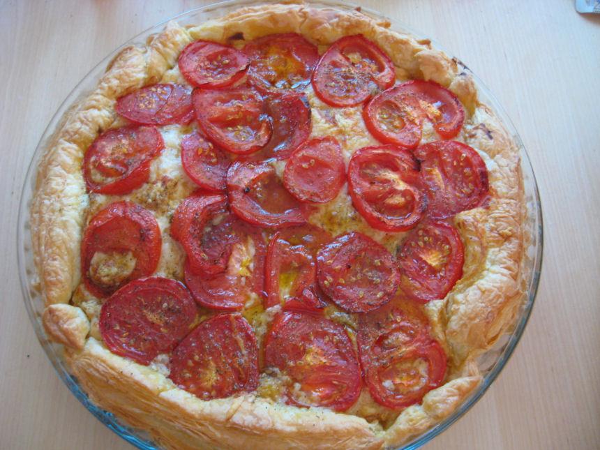 Tarte Moutarde et Tomates