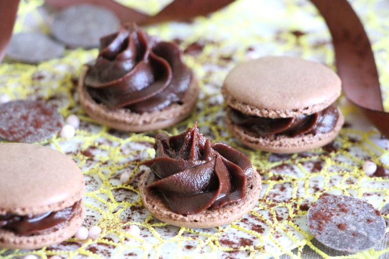 Macarons au chocolat 10
