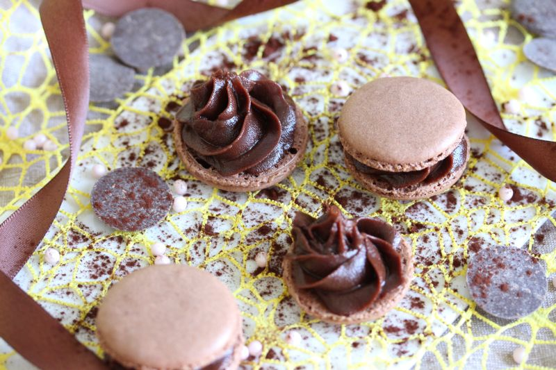 Macarons au chocolat 5