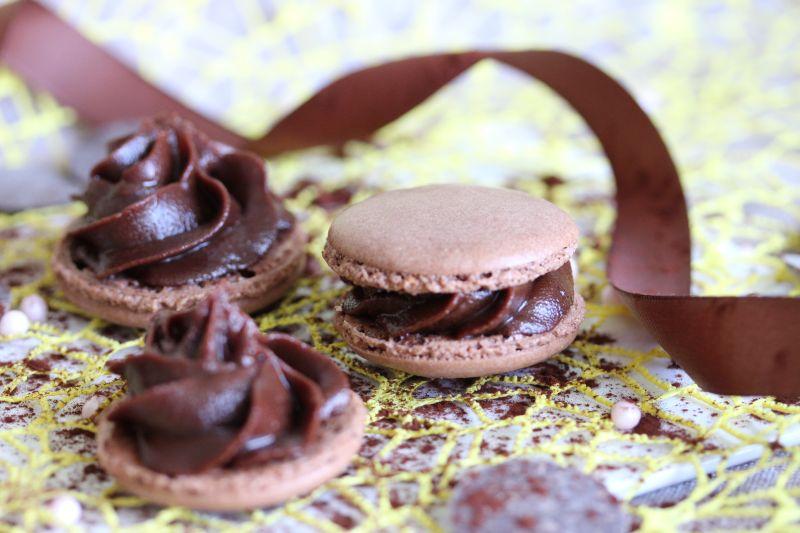 Macarons au chocolat 6