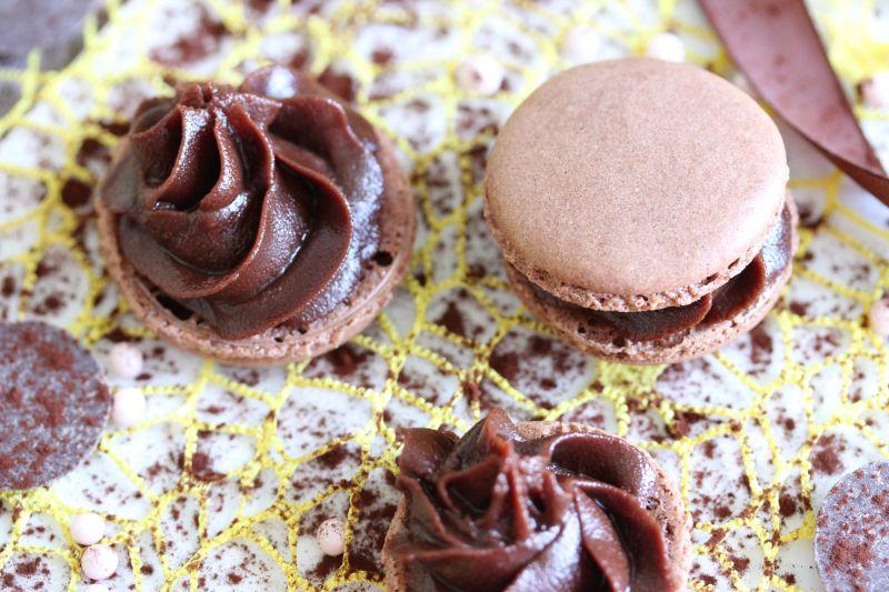 Macarons au chocolat 7