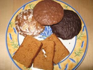 Lebkuchen aus Deutschland und Frankreich