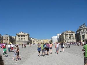 Eingang von Versailles