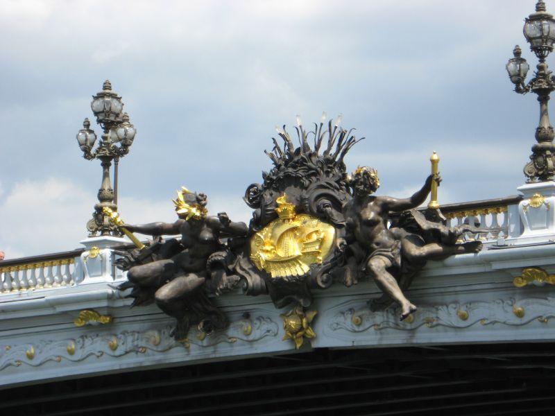 Pont Alexandre III Mitte