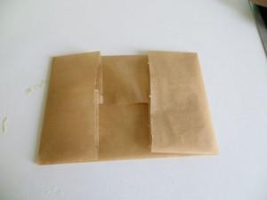 Backpapier falten