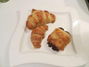 Croissants und Pain au Chocolat