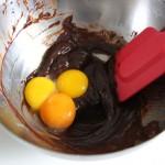 Eigelb und Schokolade