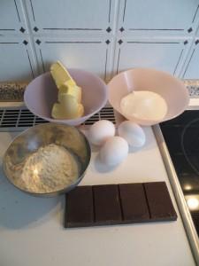 Fondant au chocolat Zutaten