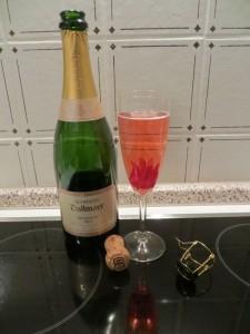 Fleur d´Hibiscus pour Champagne