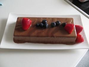 Parfait glace au chocolat