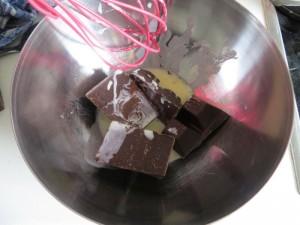Schokolade mit Sahne