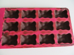 Schokolade trocken