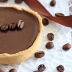 Tarte chocolat cafe