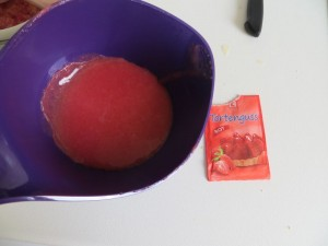 Erdbeere Tortenguss