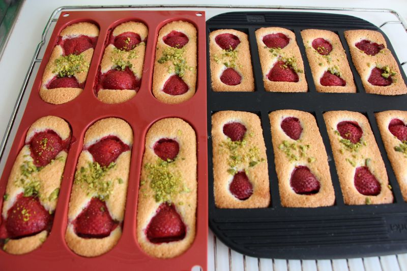 Gebackene financiers