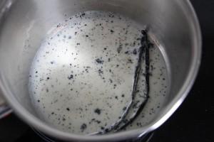 Milch mid Vanille