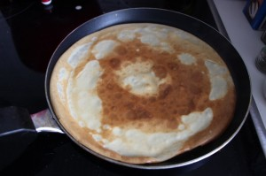 Crepes backen