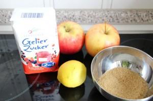 Zutaten Fullung Macarons Pomme
