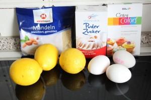 Zutaten Macaron Citron