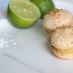 Macarons Noix de Coco et Citron Vert