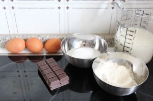 Zutaten creme patissiere au chocolat