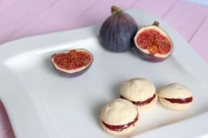 Macarons figue et fleur d´oranger