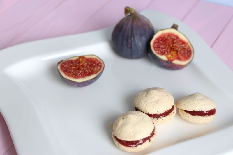 Macarons Figue et Fleur d Oranger
