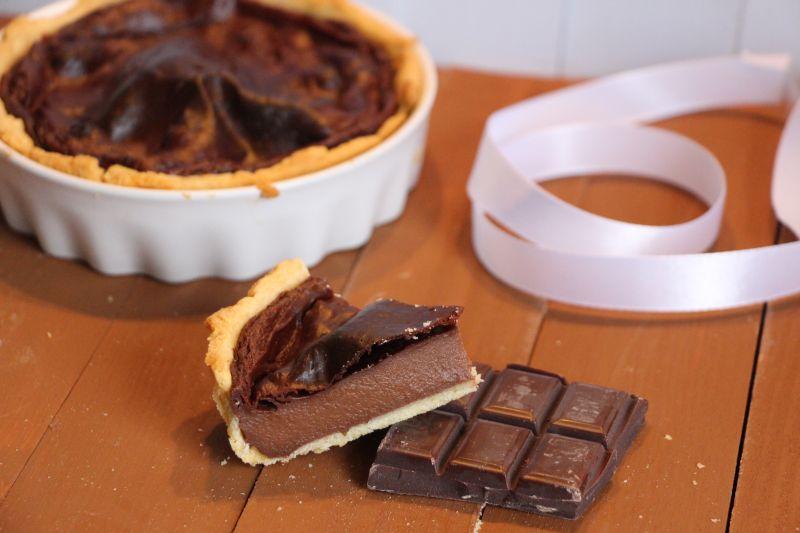 Flan au chocolat 3