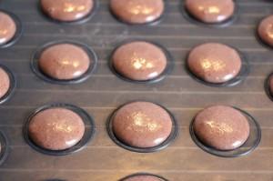 Macaron Schalen formen
