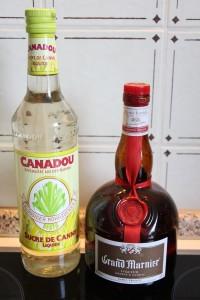 Sirop de Sucre de Canne et Grand Marnier