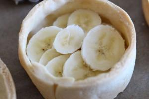 Banane verteilen