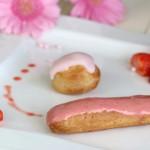 Eclairs a la fraise 2b