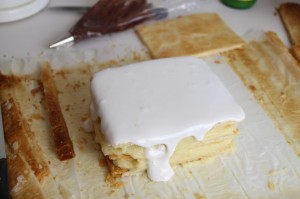 Glacage Royal Millefeuille