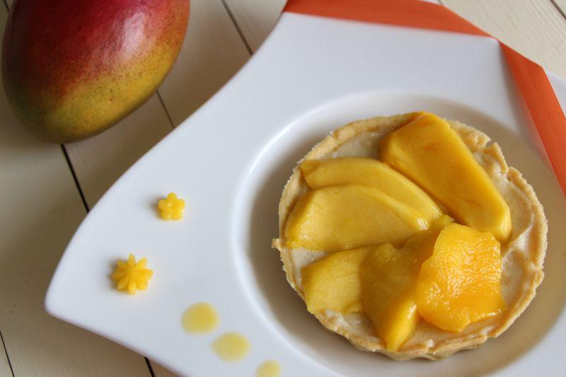 Tarte a la mangue