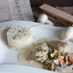 Fricassee de poulet