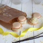 Macarons a la vanille
