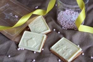 Petits Ecolier au chocolat blanc