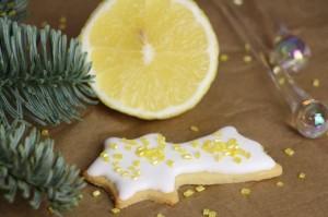 Sablés de Noël au citron