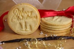 Sablés de Noël Vanille et Noisette