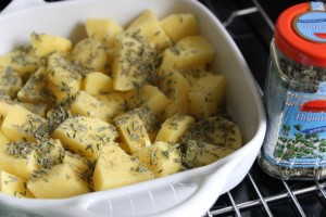 Kartoffeln mit Thymian