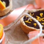 Tartelette chocolat orange