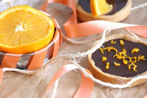 Tartelette chocolat et orange