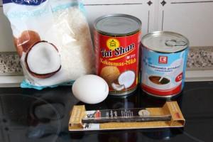 Zutaten flan coco