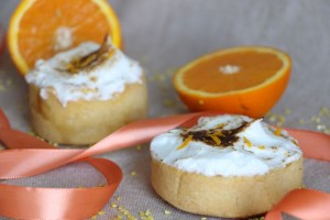 Tarte à l´orange meringuée