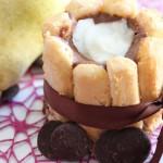 Charlotte Chocolat et poire